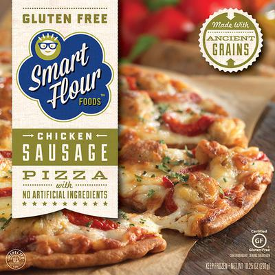 Smart Flour Foods Chicken Sausage Frozen Pizza Product Marketplace