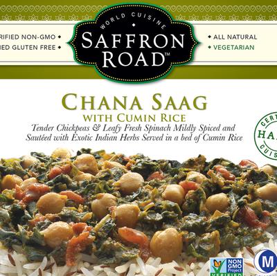 Saffron Road Vegetarian and Vegan Frozen Entrees   Product