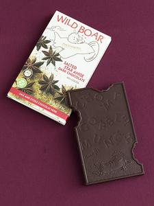Wild Boar Salted Star Anise Dark Chocolate Bar
