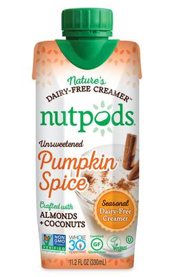 nutpods Shelf-Stable Pumpkin Spice Dairy-Free Creamer | Product Marketplace