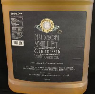 Cold Pressed Sunflower Oil | Product Marketplace