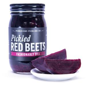 Pickled Red Beets: Fashionably Dill