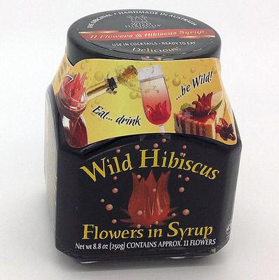 Wild Hibiscus Flowers In Syrup Product Marketplace
