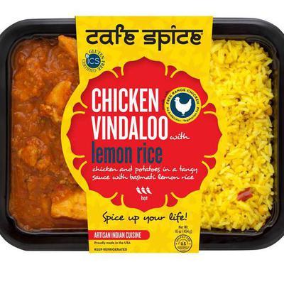 Chicken Vindaloo With Basmati Lemon Rice Product Marketplace