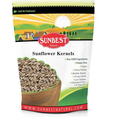 Sunflower Seed Kernels; Raw, No Shell