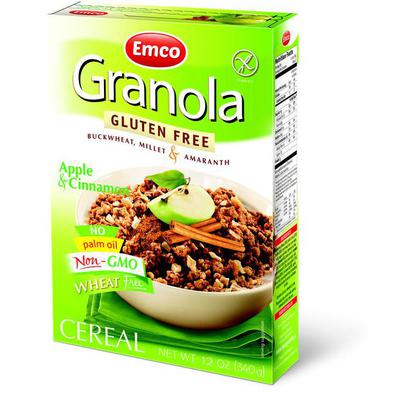 Gluten-Free Granola Müesli with Apple and Cinnamon   Product