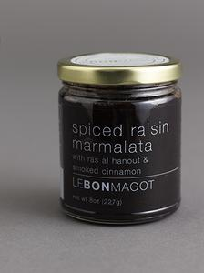 Spiced Raisin Marmalata - 8 oz