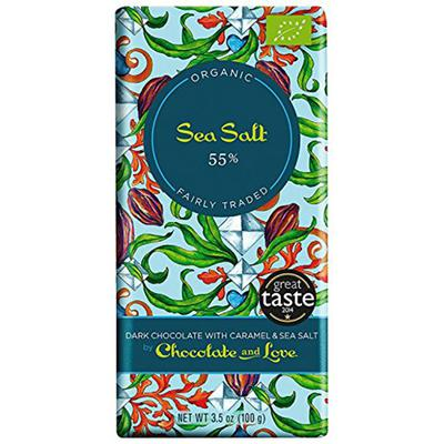 Dark Chocolate With Caramel And Sea Salt Product Marketplace