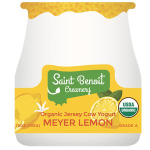 Organic Meyer Lemon Yogurt