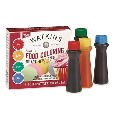 Assorted Food Coloring - No Artificial Dyes | Product Marketplace