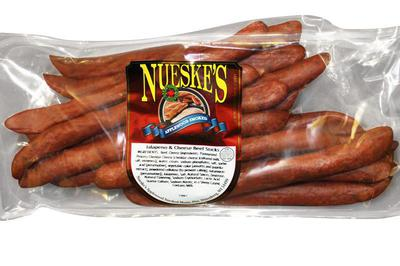 Nueske's Jalapeno & Cheese Beef Sticks