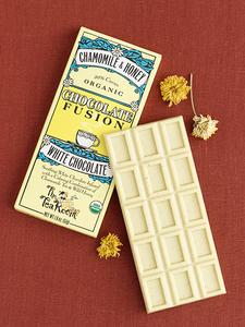 Chamomile and Honey White Chocolate Bar