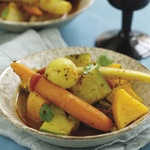 Seven Vegetable Tagine with Chermoula