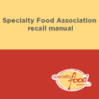 Specialty Food Association Recall Manual