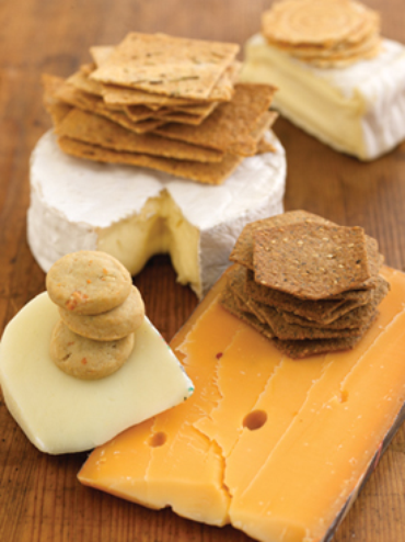 Pairing Cheese with Crackers