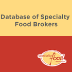 Database of Specialty Food Brokers