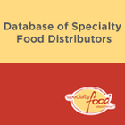 Database of Specialty Food Distributors