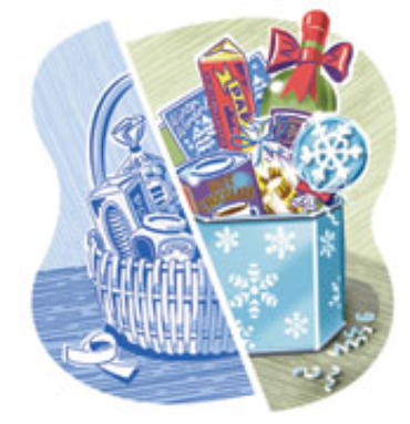 Money-Making Holiday Baskets