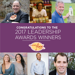 Specialty Food Association Announces Fifth Annual Leadership Awards