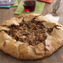 Rye and Chickpea Flour Crostata with Fontina, Dried Figs, Caramelized Onions and Prosciutto