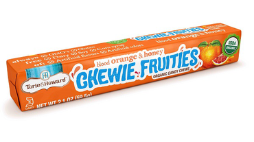 TORIE & HOWARD INTRODUCES STICK PACK OF ORGANIC CHEWIE FRUITIES