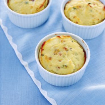 Cheese And Bacon Souffle Recipe — Dishmaps