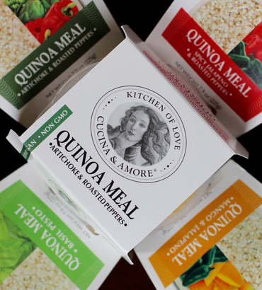 Fall in love with the Kitchen of Love, Cucina & Amore Quinoa Meals