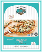 THE 'PERFECT' GLUTEN-FREE PIZZA CRUST - ARNEL'S ORIGINALS showcases NEW ORGANIC GLUTEN-FREE Pizza Crust Mix & All Purpose Flour at the Winter Fancy Food Show, BOOTH #633, January 22-24, 2017