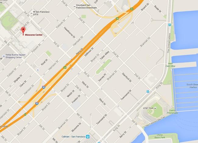 Moscone Center Maps Services