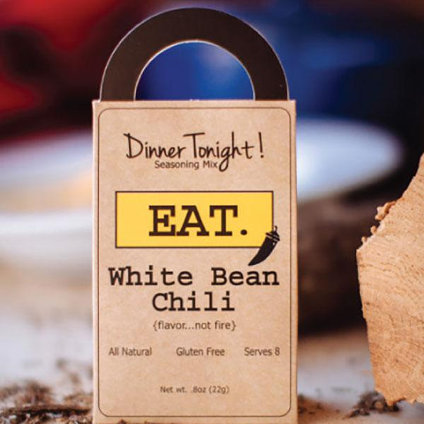 Dinner Tonight! White Bean Chili. Backyard Safari Company