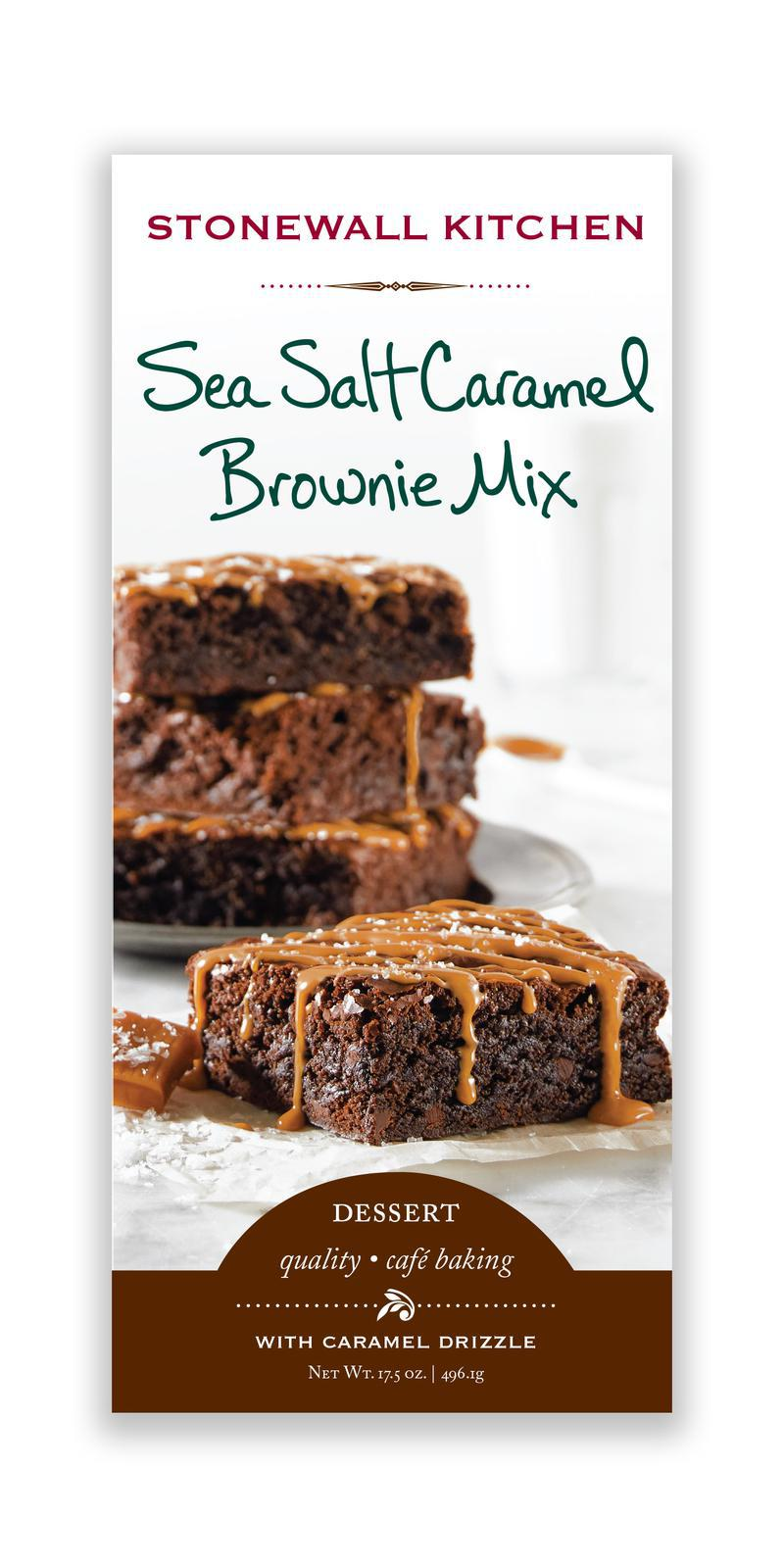Stonewall Kitchen Sea Salt Caramel Brownie Mix Product Marketplace