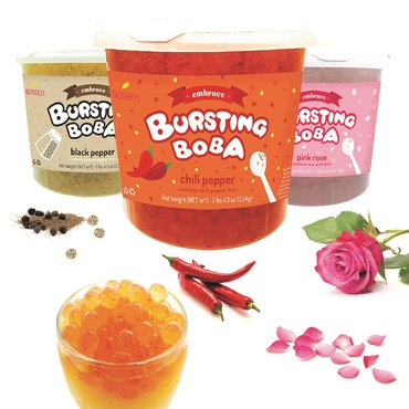 Bossen Winter Fancy Food Show - Bursting Boba Embrace