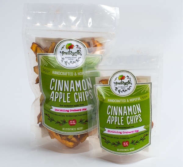 Fruitcycle apple chips