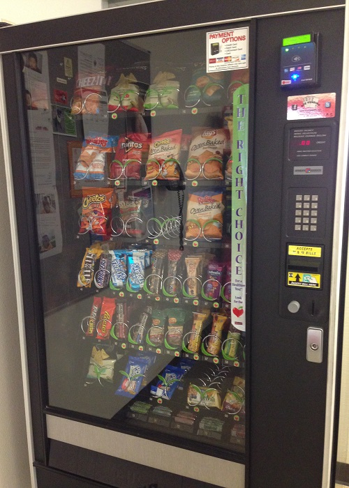 Hospitals Revamp Vending Machines with Healthier Fare   News