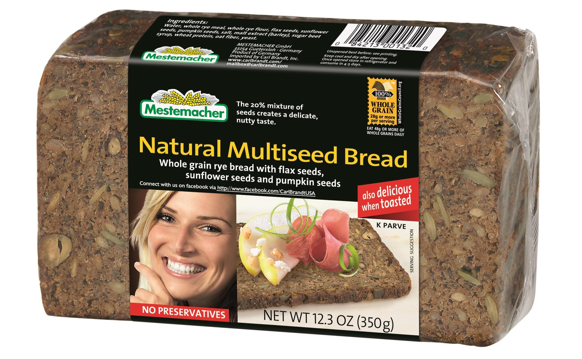 German Bread Names Named Mestemacher Breads