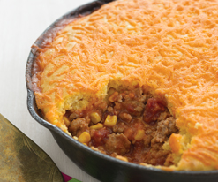 Mexican Turkey Tamale Pie