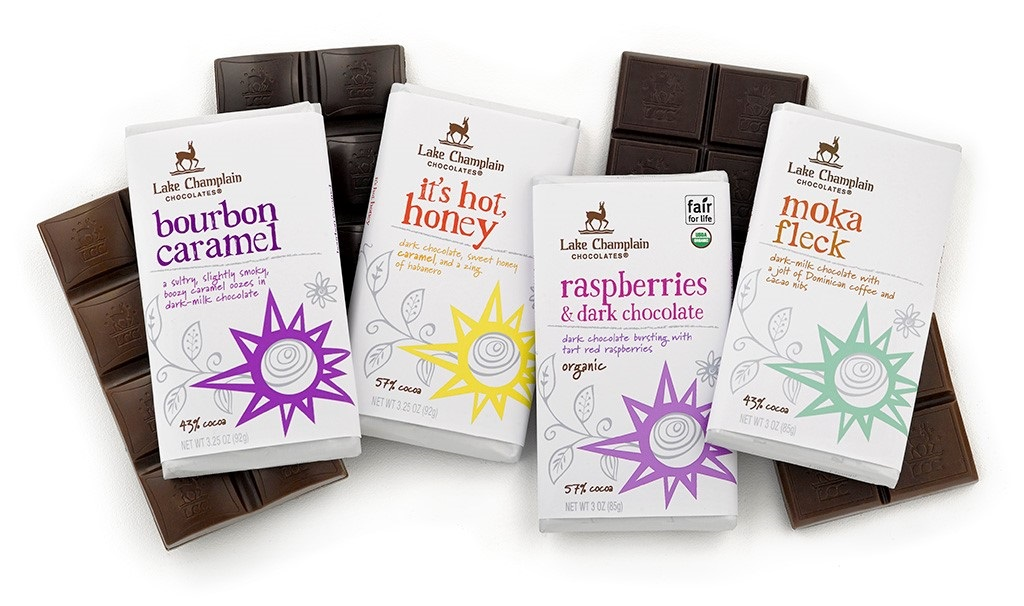 Lake Champlain Chocolates Debuts Four New Organic Bars at 2017 ...