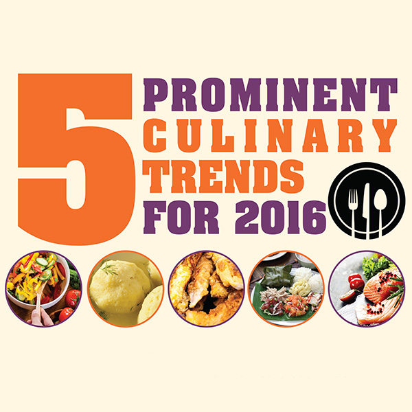 Prominent culinary trends for 2016 news